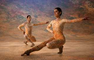 Cunningham, dancing through time