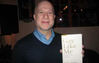 Author celebrates being gay in memoir to son