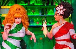 Holidays are a (fun) drag with BenDeLaCreme & Jinkx Monsoon