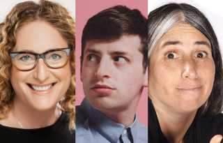 Kosher Comedy: get some laughs with Judy Gold, Alex Edelman & Lisa Geduldig