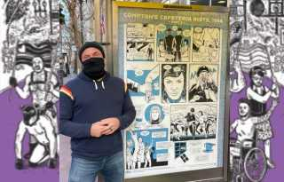 Justin Hall's Pride comics mark final Art on Market Street poster series