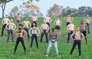 Bare Chest Calendar Men show a little skin for a good cause