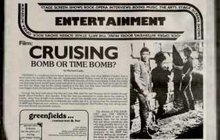 Screen times: B.A.R. film coverage through 50 years, part 1