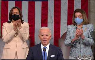 Biden calls for passage of Equality Act in speech to Congress