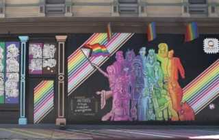 Pansexual artists unveil mural in San Jose as city's shaken by tragedy