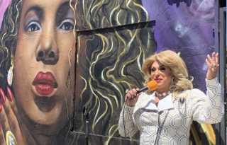 Sylvester mural livens up SOMA