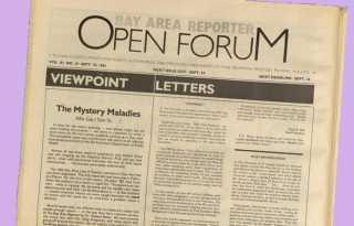 50 years in 50 weeks: 1981's AIDS editorial