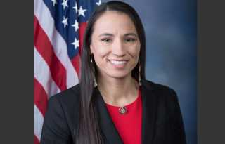 Political Notebook: With children's book, 1st lesbian Native American Congresswoman Davids aims to inspire