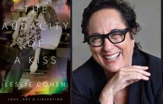 Sealed with a kiss: Leslie Cohen discusses lesbian bars and becoming 'art'