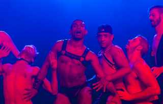 Baloney's back: saucy male burlesque show returns to Oasis