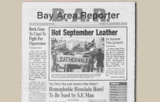 50 years in 50 weeks: 1994: SF LeatherWalk