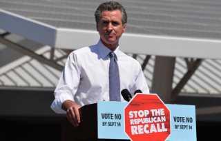 California voters reject Newsom recall