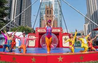 Circus Bella: big top fun in Bay Area parks