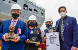 Political Notebook: Launch date set for Milk naval ship