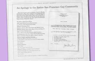 50 years in 50 weeks: 1995, apology ad