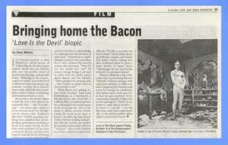 50 years in 50 weeks: 1998's Bacon & Craig's