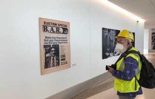 More intimate Harvey Milk portrait awaits SFO international travelers